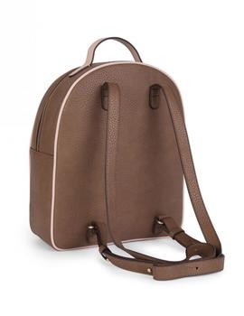 MOCHILA M. ELICE NEW MARRON-ROSA
