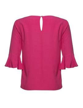 BLUSA ORANGE FUCSIA