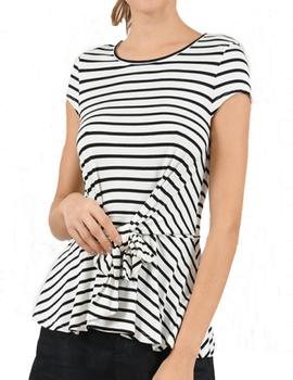 CAMISETA MOLLY BRACKEN RAYAS MARINERAS