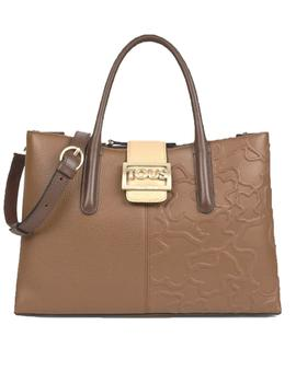 BOLSO TOUS CITY T ICON MULTI-MARRON
