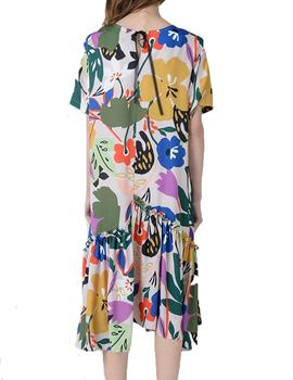 VESTIDO MOLLY BRACKEN ESTAMPADO FLORAL